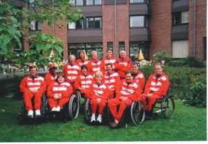 1998 Wheelchair Fencing World Championship Team in Bonn, Germany